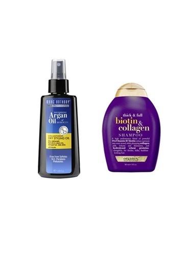 Marc Anthony Organix Biotin Collagen Şampuan 385 Ml+Marc Anthony Argan Ve Keratin Kuru Yağ 120 Ml Renksiz